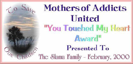 Mothers of Addicts Award