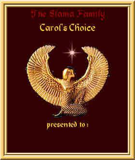 Carol's Choice Award