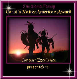 Native American Award