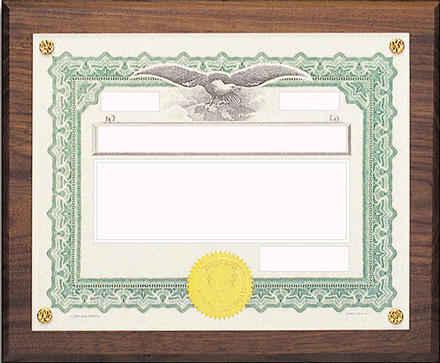 Certiicate Award Graphic