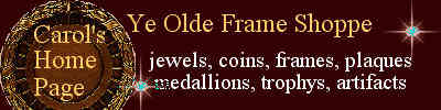 Ye Olde Frame Shoppe Banner